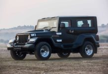DC Hammer Mahindra Thar Modification Front 2018