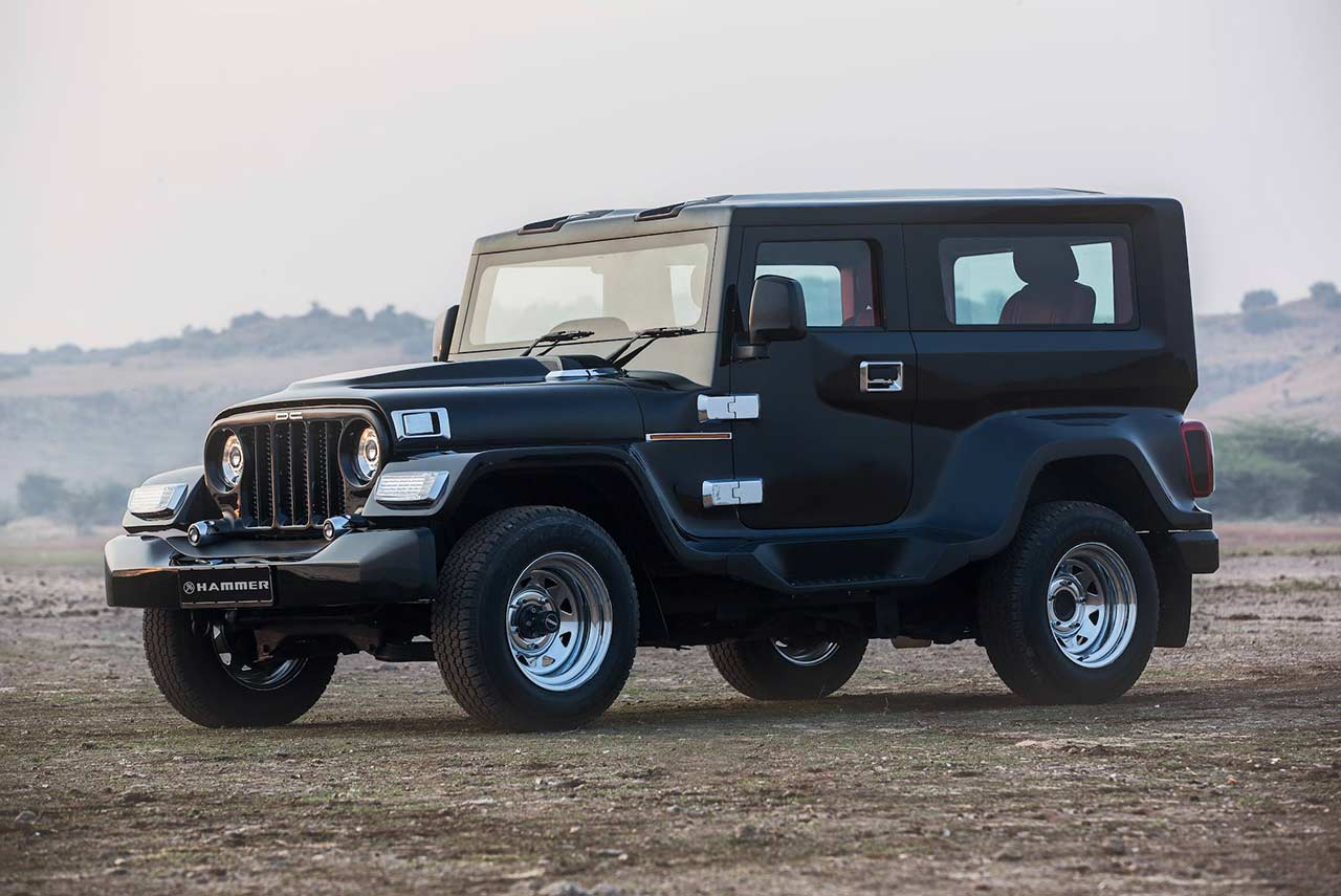 Suv Jeep 2018 >> DC Design Hammer – A modified Mahindra Thar | AUTOBICS