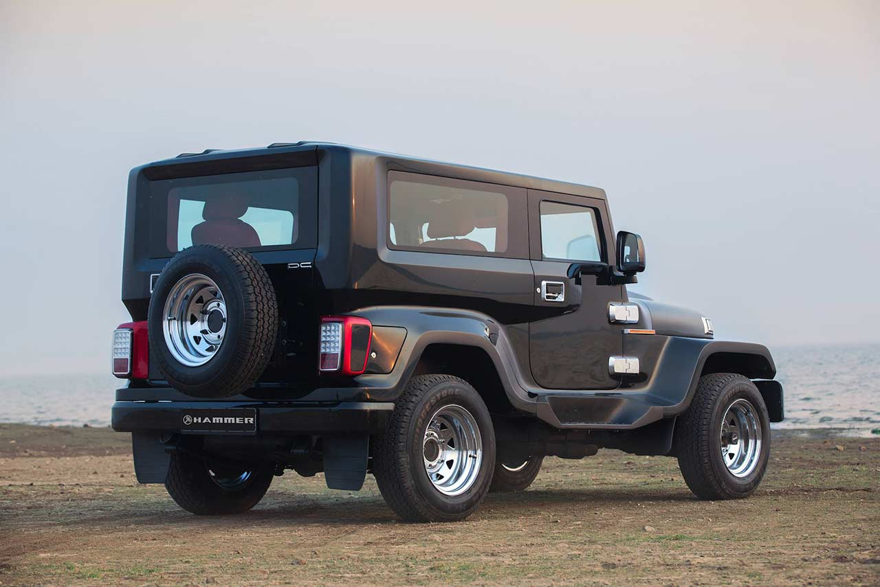 2017 Jeep Concept Vehicles >> DC Hammer Mahindra Thar Modification Rear 2018 | AUTOBICS