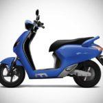 Flow Electric Scooter Blue Colour 2018