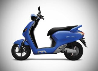 Flow Electric Scooter Blue Colour 2018