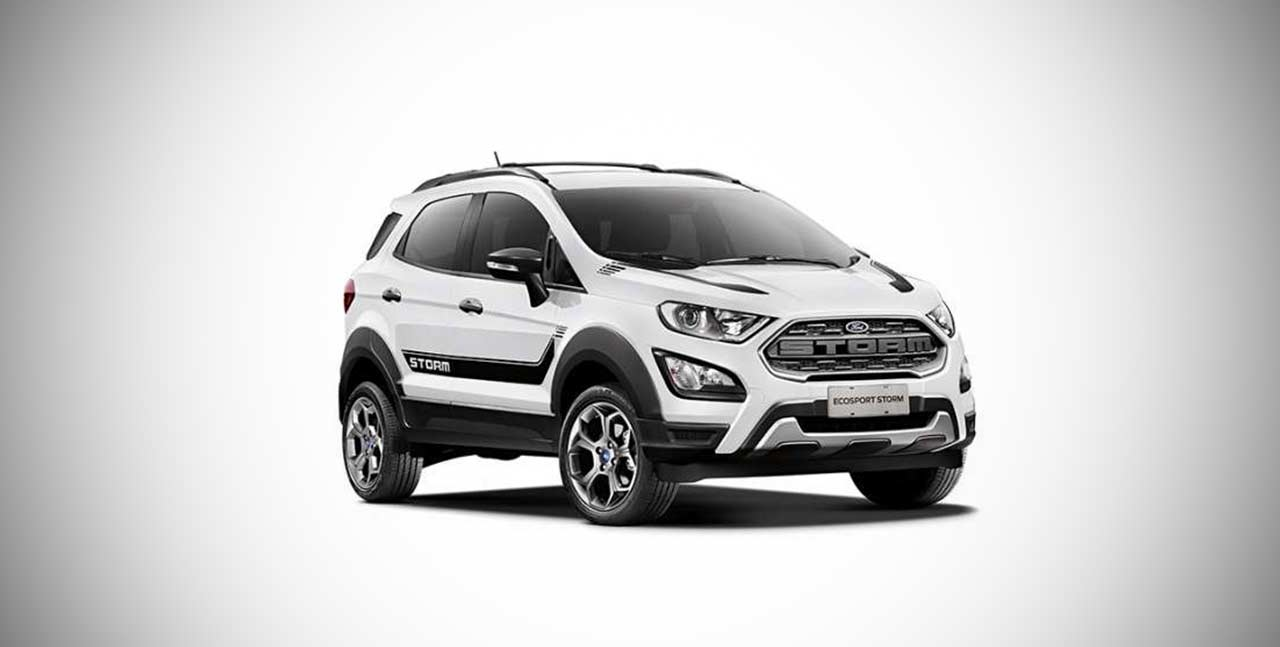 Ford Ecosport Storm Arctic White Branco Artico 2018 Autobics