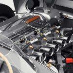 Jaguar D-Type Race Car Engine 2018