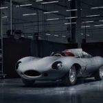 Jaguar D-Type Race Car Front Quarter 2018