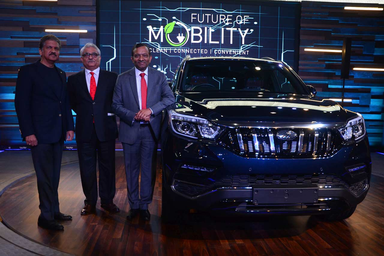 Mahindra Rexton Auto Expo 2018