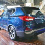Mahindra Rexton XUV 700 Auto Expo 2018 IAB Rear