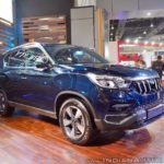 Mahindra XUV700 Rexton Auto Expo 2018 IAB Front Quarter