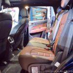 Mahindra XUV700 Rexton Auto Expo 2018 IAB Rear Seats
