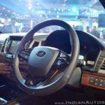 Mahindra XUV700 Rexton Auto Expo 2018 IAB Steering Wheel