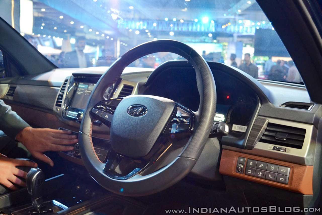 Mahindra Rexton / XUV700 Showcased at the Auto Expo 2018 ...
