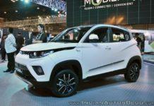 Mahindra e-KUV100 Auto Expo 2018 Front