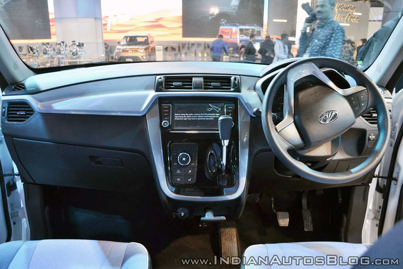 mahindra e kuv100 unveiled at auto expo 2018 autobics. Black Bedroom Furniture Sets. Home Design Ideas