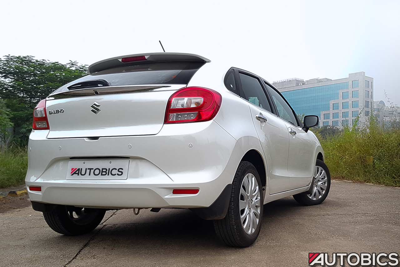 Maruti Suzuki Baleno Alpha Pearl Arctic White Long Term