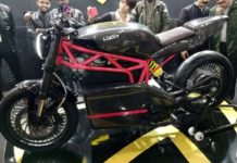 Menza Lucat Electric Motorcycle Auto Expo 2018
