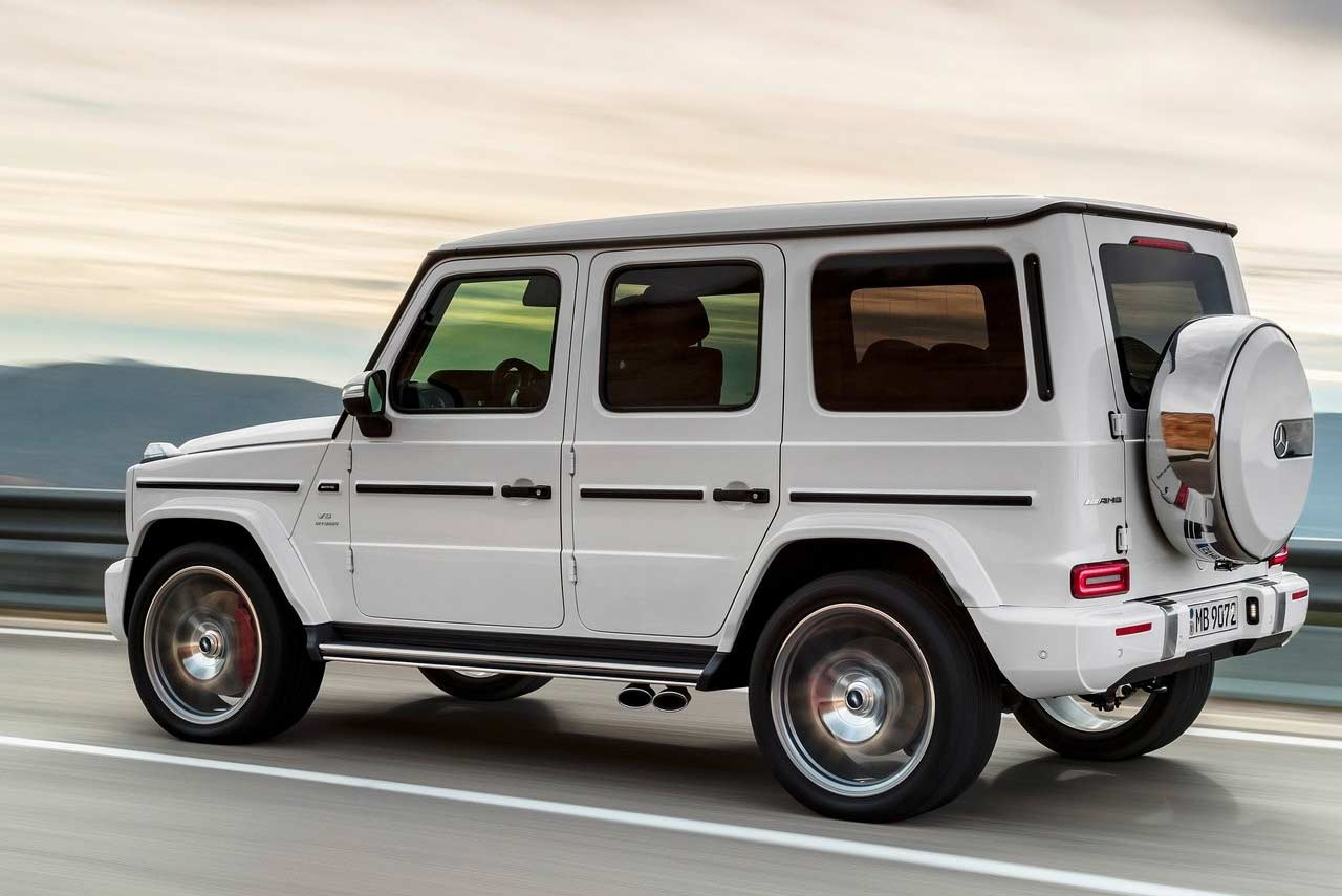 new 2019 mercedes amg g 63 unveiled autobics. Black Bedroom Furniture Sets. Home Design Ideas