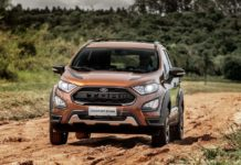 New Ford EcoSport Front 2018