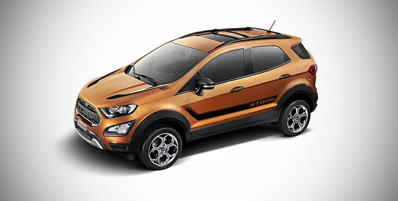 2018 Ford EcoSport Storm Edition introduced in Brazil ...