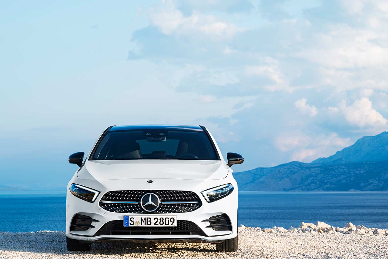 All new 2019 mercedes benz a class unveiled autobics for All new mercedes benz