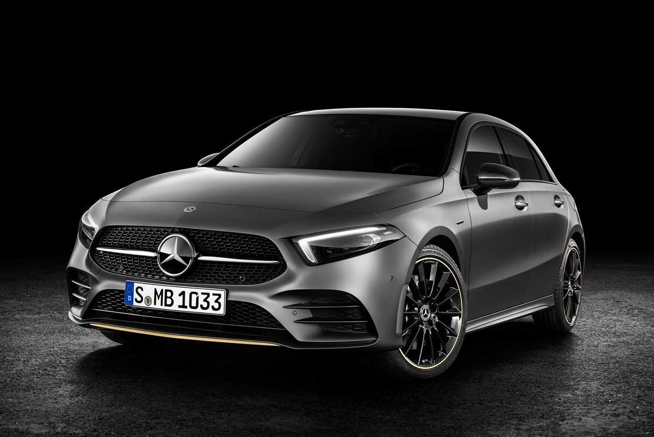 New Mercedes-Benz A-Class Edition 2019 Studio Front Left