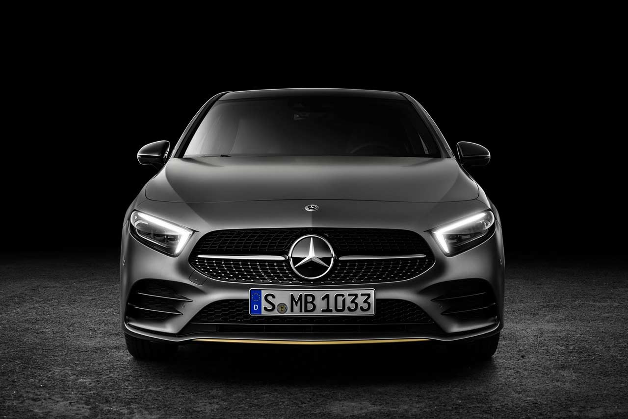 Uber Vehicle Solutions >> New Mercedes-Benz A-Class Edition 2019 Studio Front | AUTOBICS