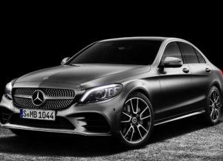 New Mercedes-Benz C-Class Front Quarter 2019