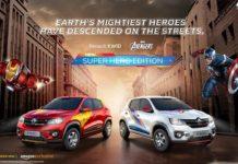 New Renault Kwid Marvel Avengers Super Hero Edition
