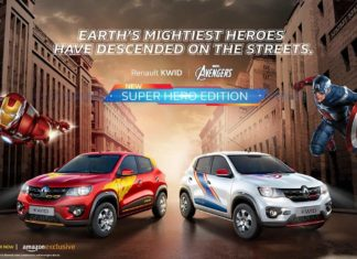 New Renault Kwid Marvel Avengers Super Hero Edition