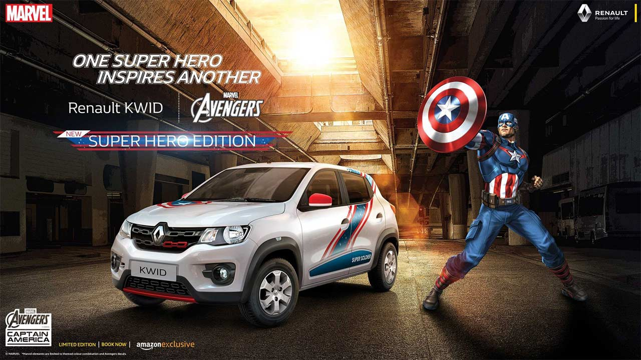 New Renault Kwid Super Hero Edition Launched In India