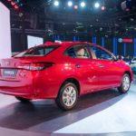 New Toyota Yaris Sedan Auto Expo 2018 Rear Quarter