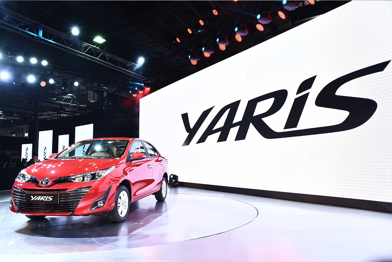 New Toyota Yaris Sedan Auto Expo 2018
