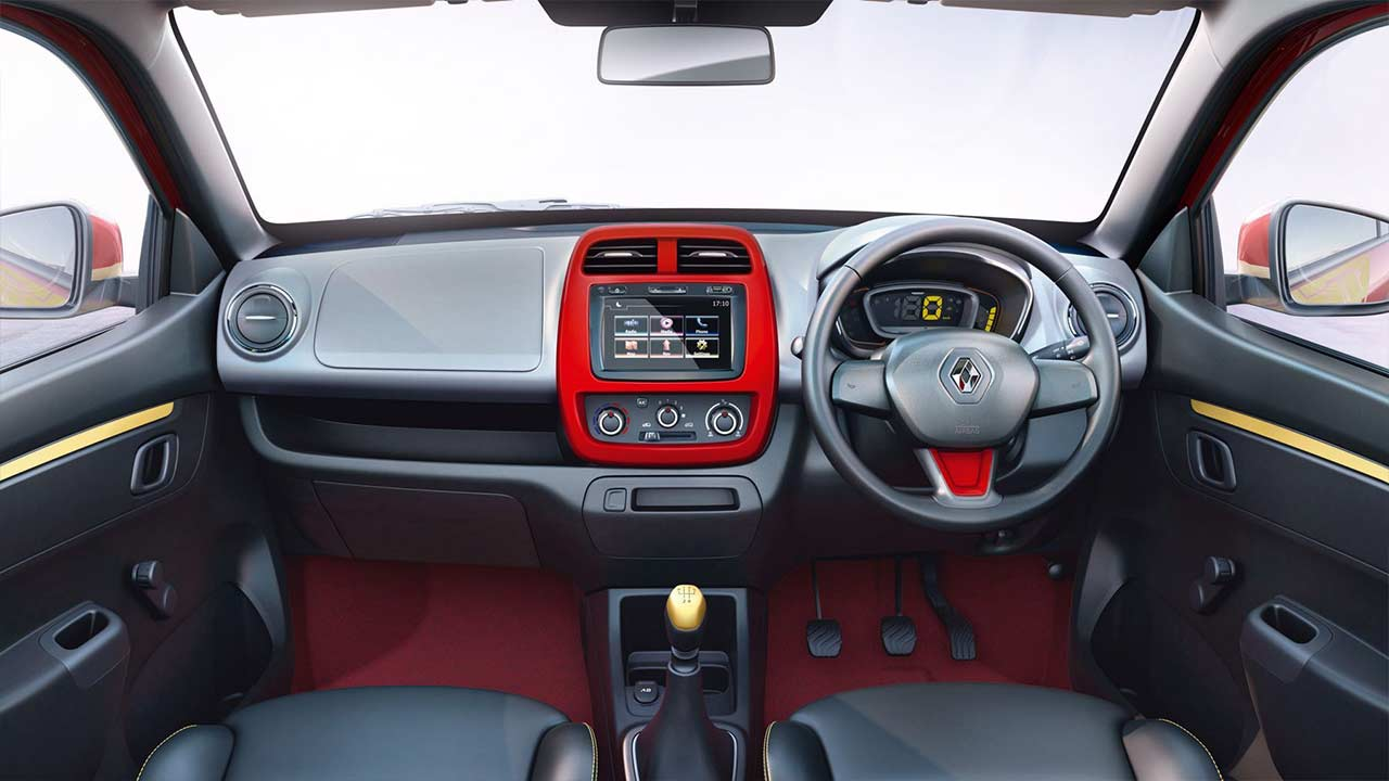 new renault kwid super hero edition launched in india autobics. Black Bedroom Furniture Sets. Home Design Ideas