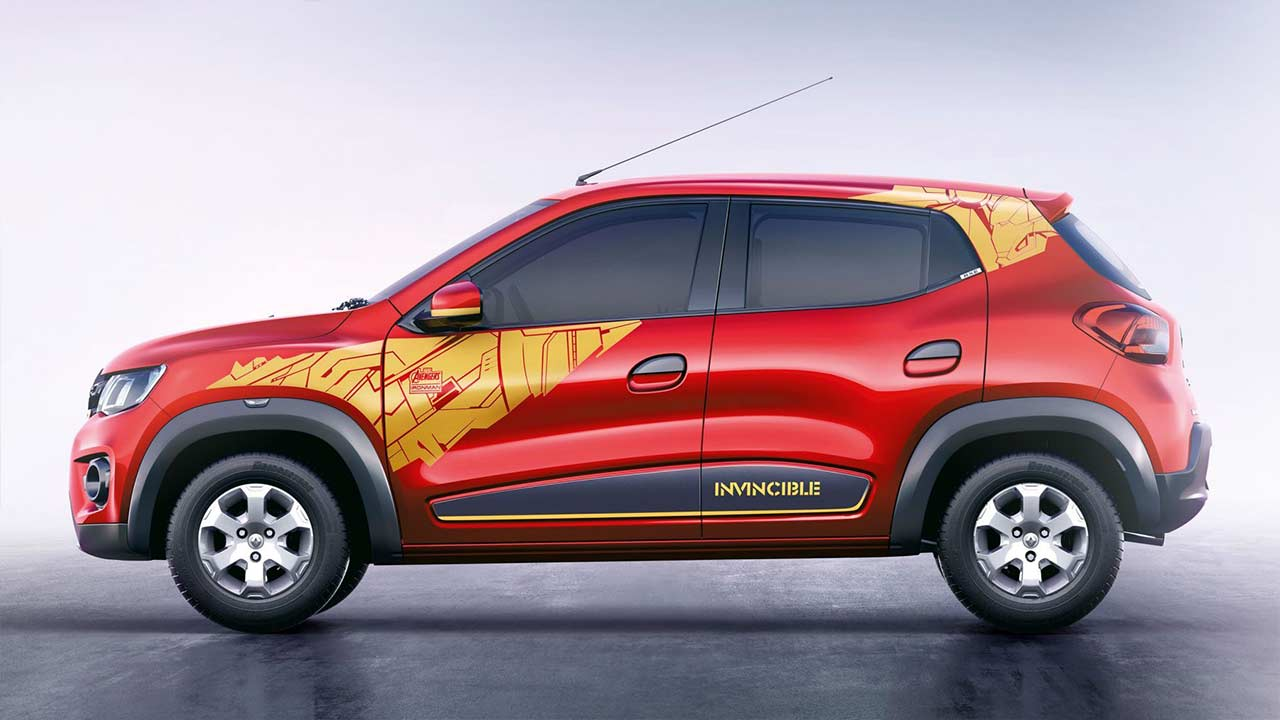 Renault Kwid Iron Man Edition 2018 Side Autobics