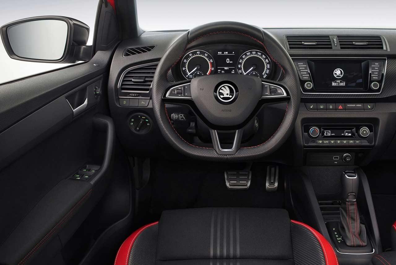 skoda fabia monte carlo 2019 steering wheel autobics