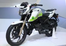 TVS Apache RTR 200 Fi Ethanol 2018