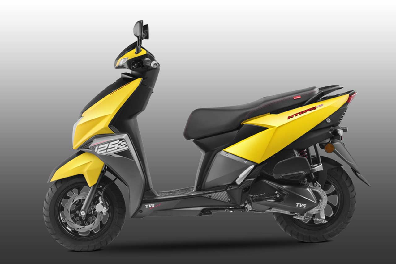 TVS Ntorq 125 Scooter Launched in India - AUTOBICS