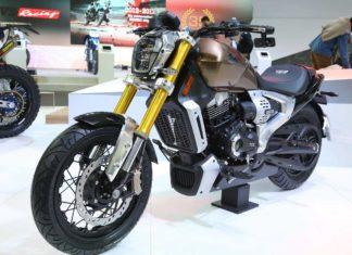TVS Zeppelin Concept Motorcycle 2018