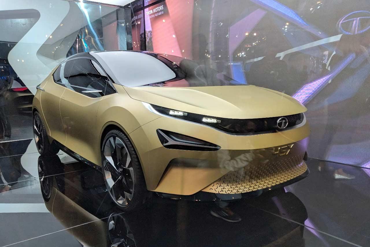 Tata 45X Concept Unveiled at the Auto Expo 2018 | AUTOBICS