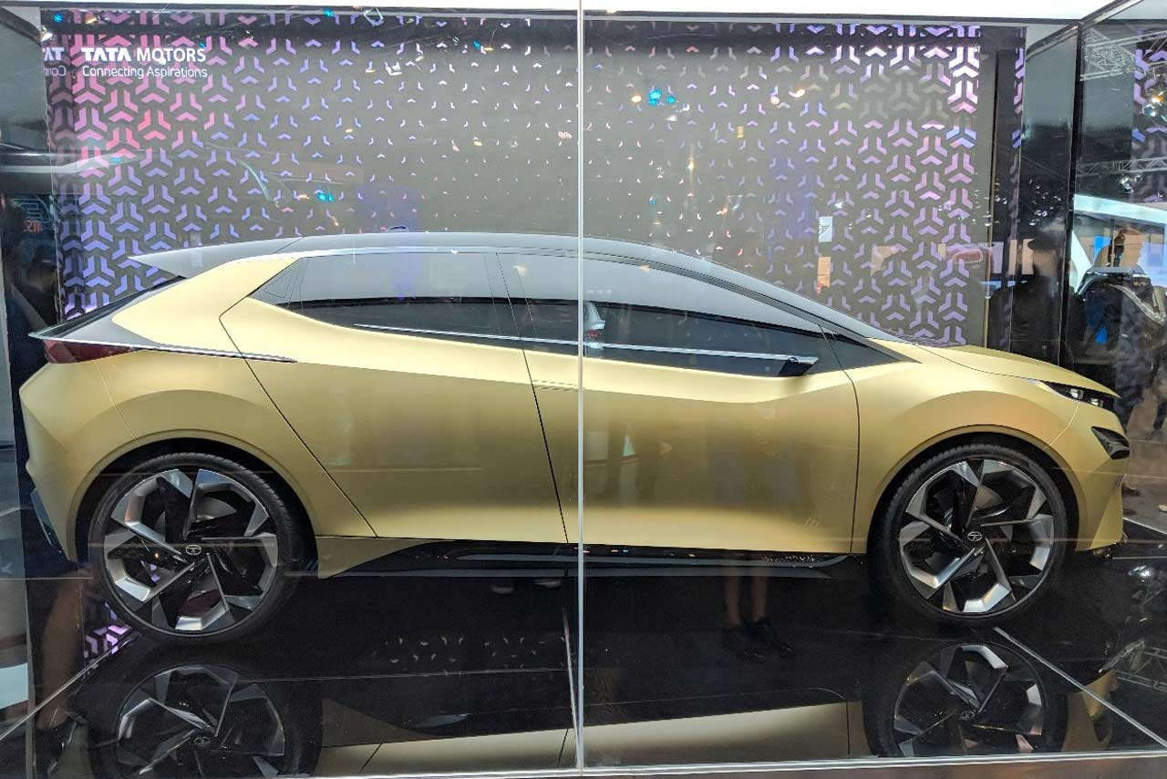 Tata 45X Concept Unveiled at the Auto Expo 2018 | AUTOBICS
