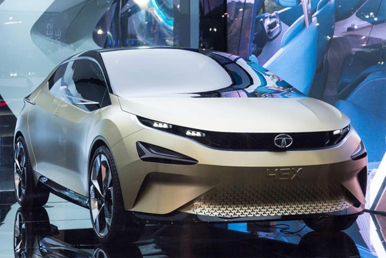 Tata 45x concept unveiled at the auto expo 2018 autobics for Tata motors future cars
