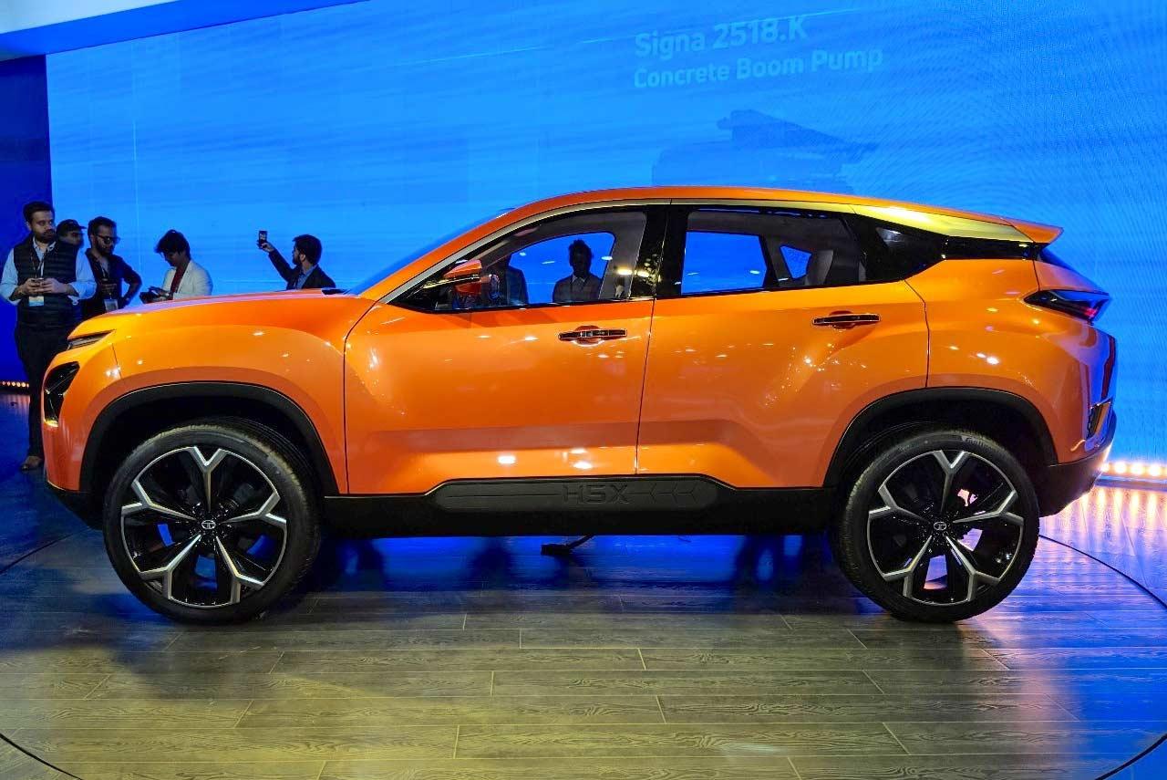 Tata H5x Concept Suv Unveiled At The Auto Expo 2018 Autobics