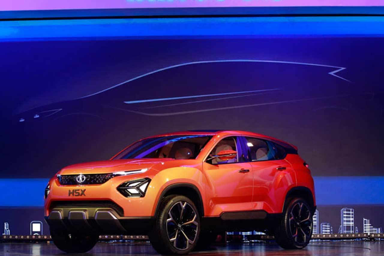 Tata h5x concept suv unveiled at the auto expo 2018 autobics for Tata motors future cars