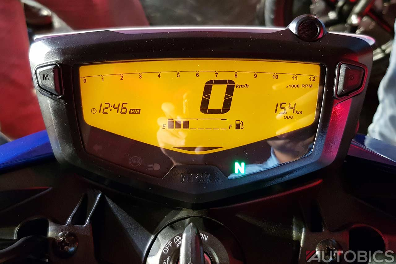 2018 Tvs Apache Rtr 160 4v Digital Speedometer Autobics
