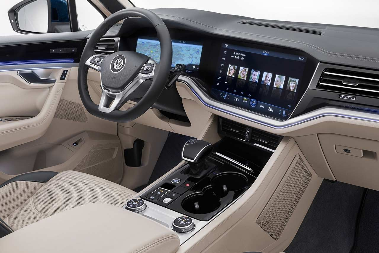 New Nissan Altima >> 2019 VW Touareg Interior (2) | AUTOBICS