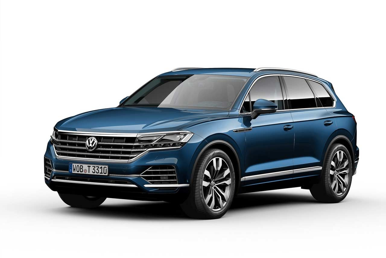 2019 VW Touareg Unveiled; Makes World Debut in China | AUTOBICS