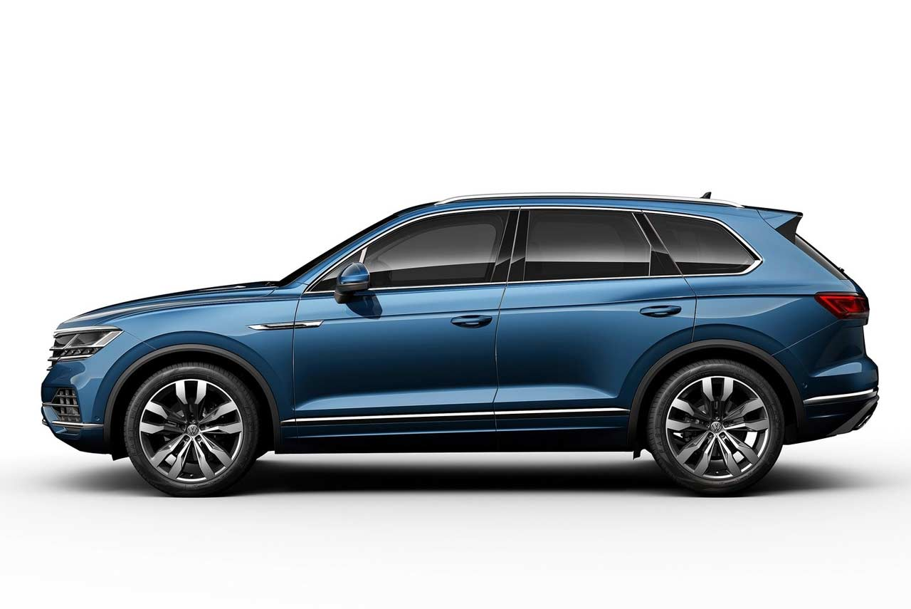 2019 vw touareg unveiled makes world debut in china autobics. Black Bedroom Furniture Sets. Home Design Ideas