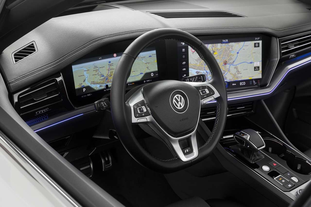 2019 Volkswagen Touareg R Line Interior Autobics