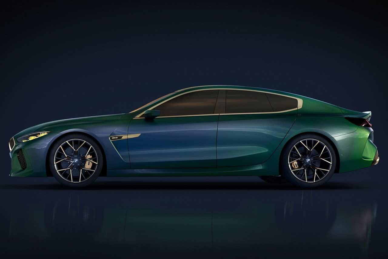 Bmw M8 Gran Coupe Concept Unveiled Autobics