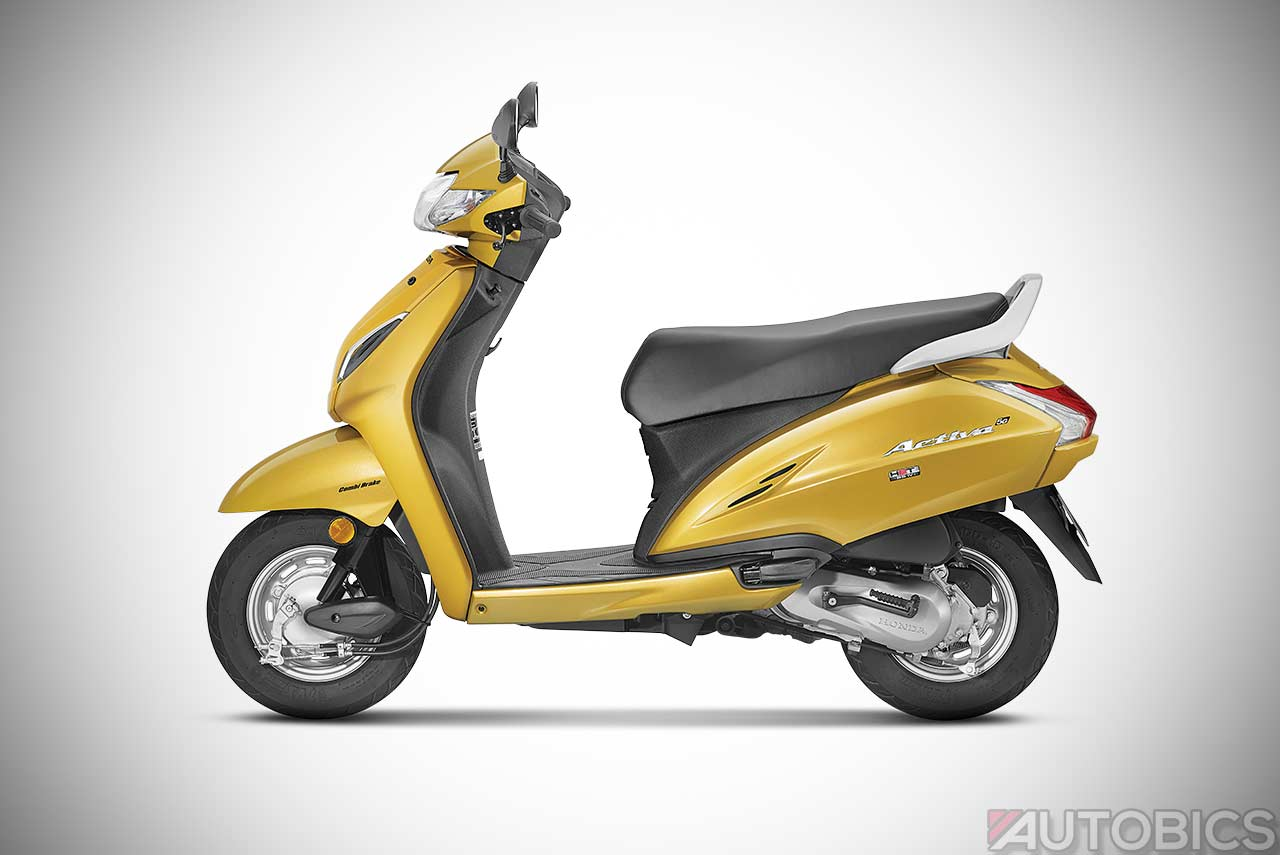 Honda Activa 5G Priced at INR 52,460/-; Comes in 8 Colours ...