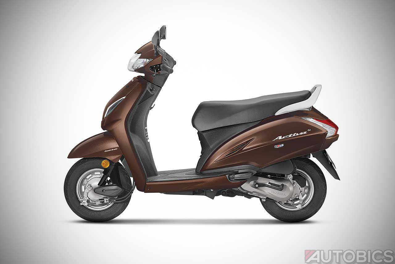 Honda Activa 5g Majestic Brown Metallic 2018 Autobics