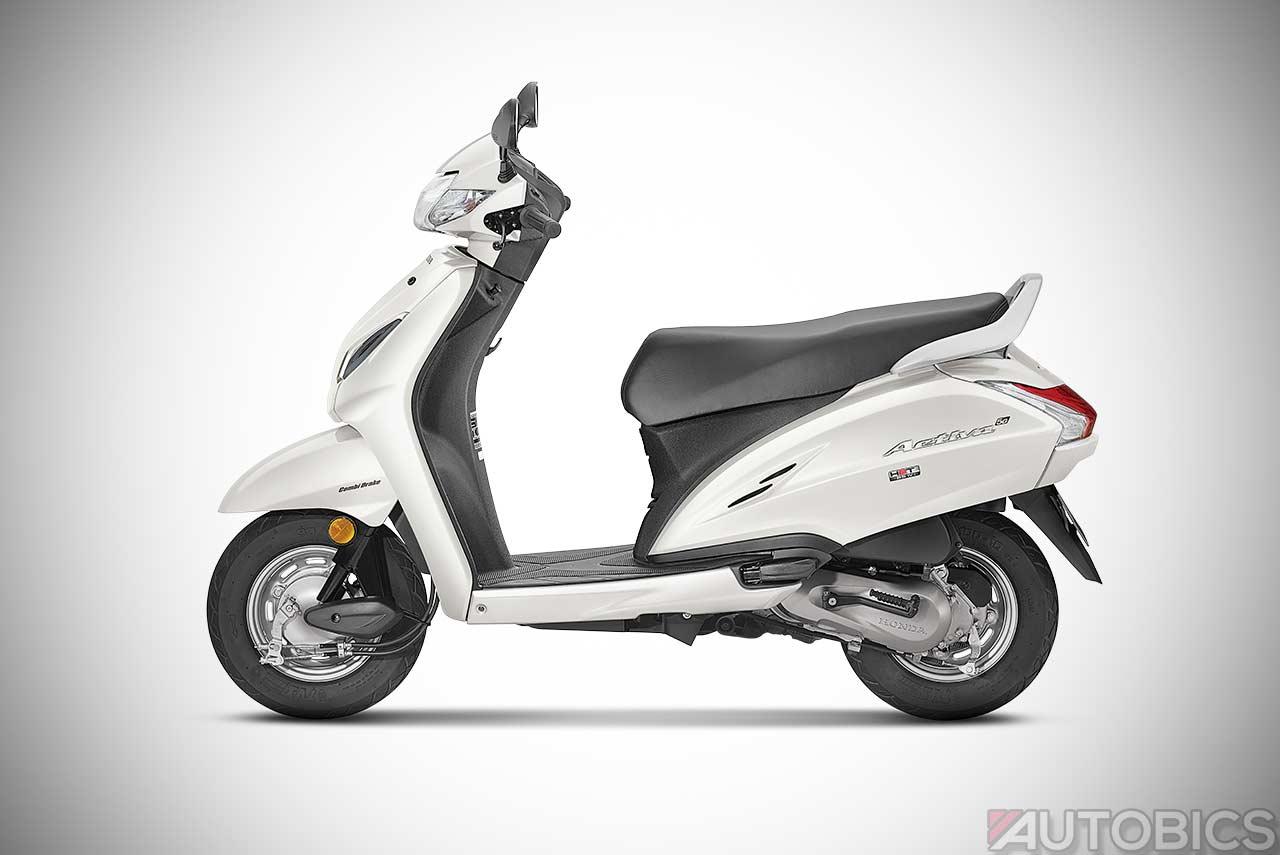 Honda Activa 5g Pearl Amazing White 2018 Autobics